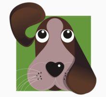 All Ears! - Puppy dog T Shirt by BlueShift