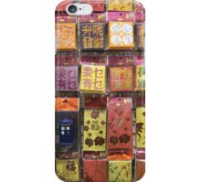 TARDIS Greeting iPhone Case/Skin