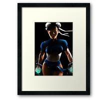 Chun Li - Sexy Street Fighter Framed Print