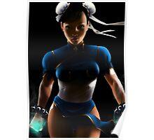 Chun Li - Sexy Street Fighter Poster