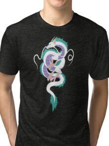 Haku the River Spirit Tri-blend T-Shirt