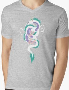 Haku the River Spirit Mens V-Neck T-Shirt