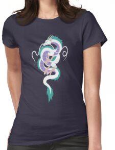 Haku the River Spirit Womens Fitted T-Shirt