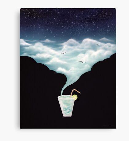 Drink the Sky Canvas Print