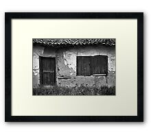 Rustic Frames Framed Print