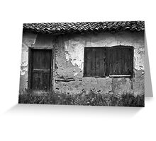 Rustic Frames Greeting Card