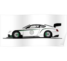 Bentley Continental GT3 Poster