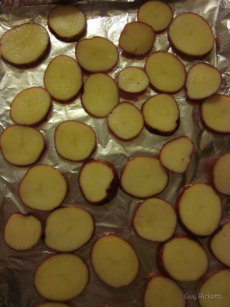 A Fleet of Potato Slices by Guy Ricketts
