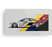 Cadillac CTS V Coupe Race Car Metal Print