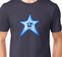 Twinkle Twinkle Smiling Blue Star Unisex T-Shirt