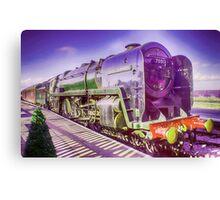 Oliver Cromwell Steam Locomotive Canvas Print