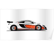 McLaren 650S GT Sprint Poster