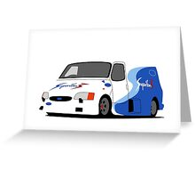 Ford Transit Supervan 3 Greeting Card