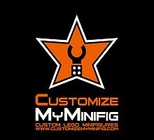Customize My Minifig Official T-Shirt, Hoodie, Sticker, Baby Clothes [Solid Background] by Chillee