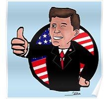 JFK Nuclear Boy Poster