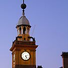 Clock Tower by Michelle Ricketts