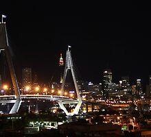 Anzac Bridge, Sydney by TJSphoto