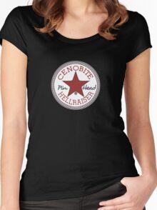 hellraiser converse Women's Fitted Scoop T-Shirt