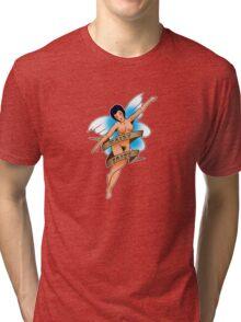 Hairy Fairy sailor jerry Tri-blend T-Shirt
