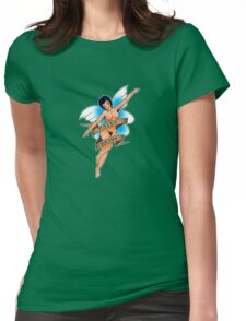 Hairy Fairy sailor jerry Womens Fitted T-Shirt