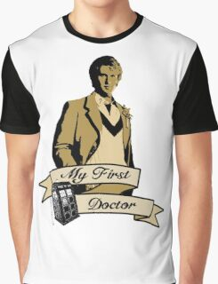 Doctor Who - My first Doctor (Who) fifth 5th Peter Davison Graphic T-Shirt