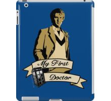 Doctor Who - My first Doctor (Who) fifth 5th Peter Davison iPad Case/Skin