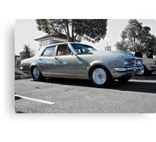 Holden HK Premier in Silver Fox with reverse cowling 2 Canvas Print