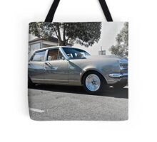 Holden HK Premier in Silver Fox with reverse cowling 2 Tote Bag