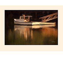 Reflections, Barter Island, Maine Photographic Print