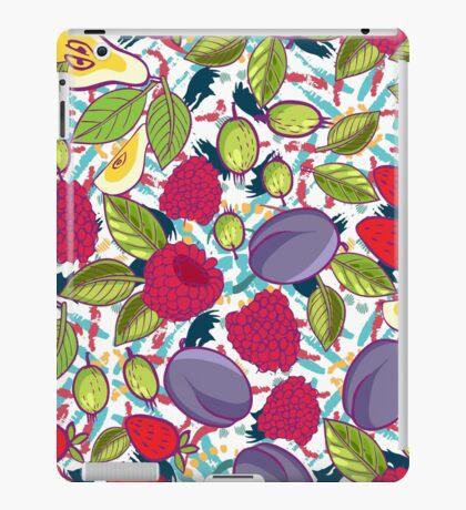Tribal and Sweet berries seamless iPad Case/Skin