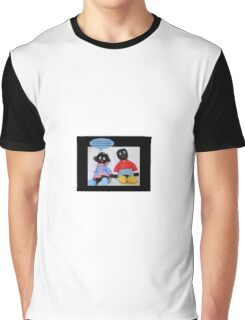 Worried Golly Graphic T-Shirt
