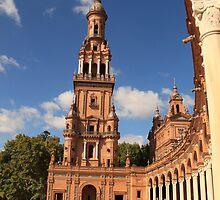 Plaza de España in Seville - Andalusia, Spain by azotnarkozu