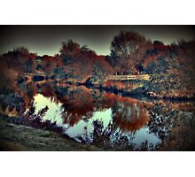 An Autumn afternoon at Teston  Photographic Print