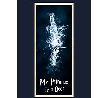 My Patronus is a Beer Photographic Print