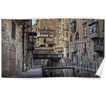 Old bridges --- Valletta Malta Poster