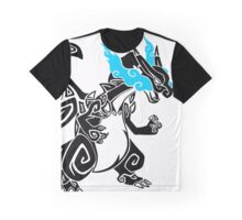 Mega Zard - Black Graphic T-Shirt