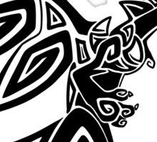 Mega Zard - Black Sticker