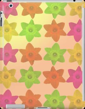 Flower Tessellation by Stephanie Herrieven