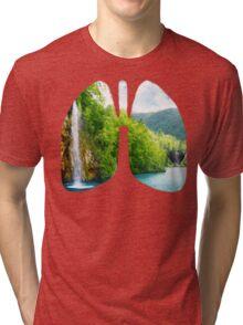 Lungs of fresh air Tri-blend T-Shirt
