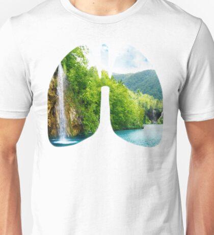 Lungs of fresh air Unisex T-Shirt