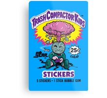 TRASH COMPACTOR KIDS Metal Print