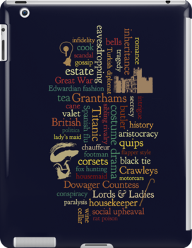 Downton Abbey Word Mosaic by dapperc