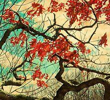 Gnarled Old Oak Tree by SRowe Art