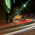 Racing along the Quayside by David  Parkin