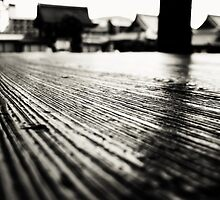 Kyoto Japan Temple Floor Macro by barrettbiggers