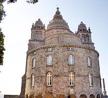 Saint Luzia's Basilica - A rear view by João Figueiredo