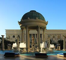 Pools at Caesar's Palace by Tracy Friesen