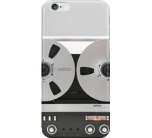 revox old magnetic record tape iPhone Case/Skin