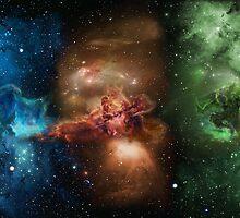 Skill Nebula - Skyrim by Lazard