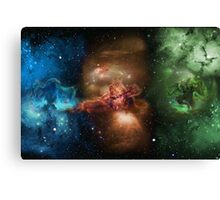 Skill Nebula - Skyrim Canvas Print